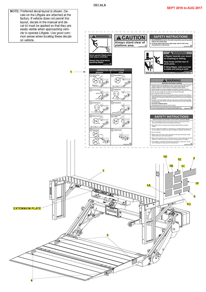 Maxon Liftgate Bmra Wiring Diagram Thermal Swith Bmr Eagle Exploded Books On Lift Gate